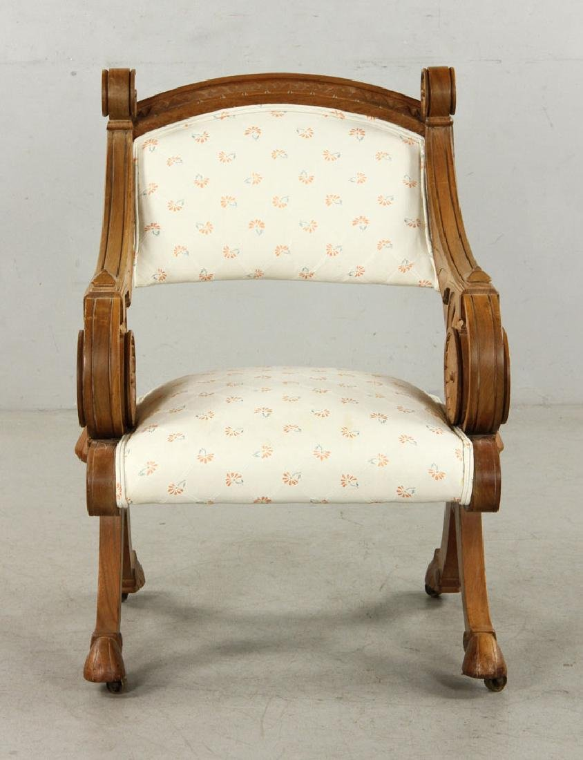19th C. Victorian Armchair - 2