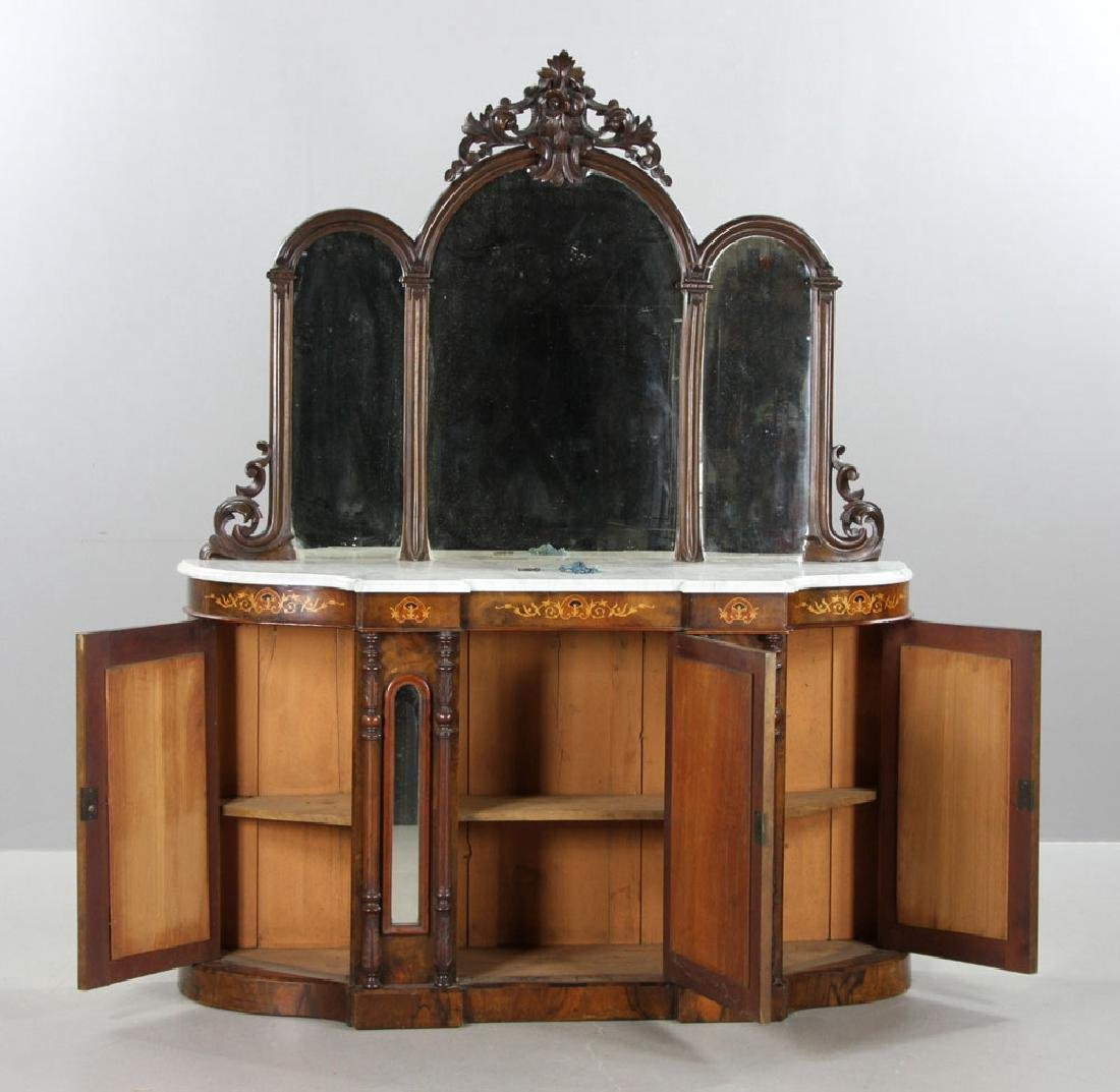 Marble Top Cabinet - 7