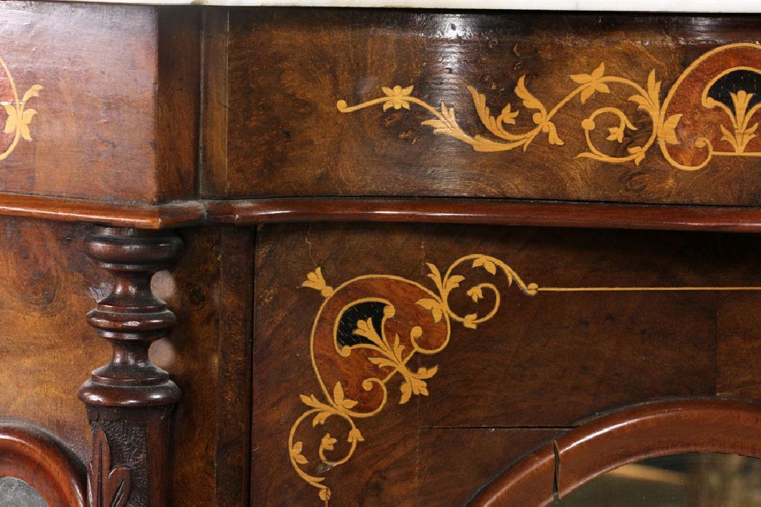 Marble Top Cabinet - 9
