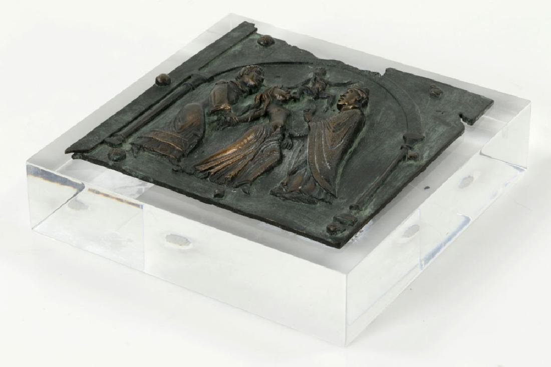Bronze Plaque with Figures - 6