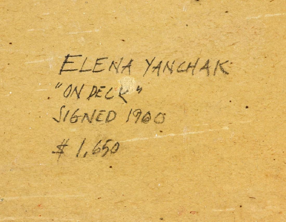 Yanchak, Three Sailors, Oil on Board - 8