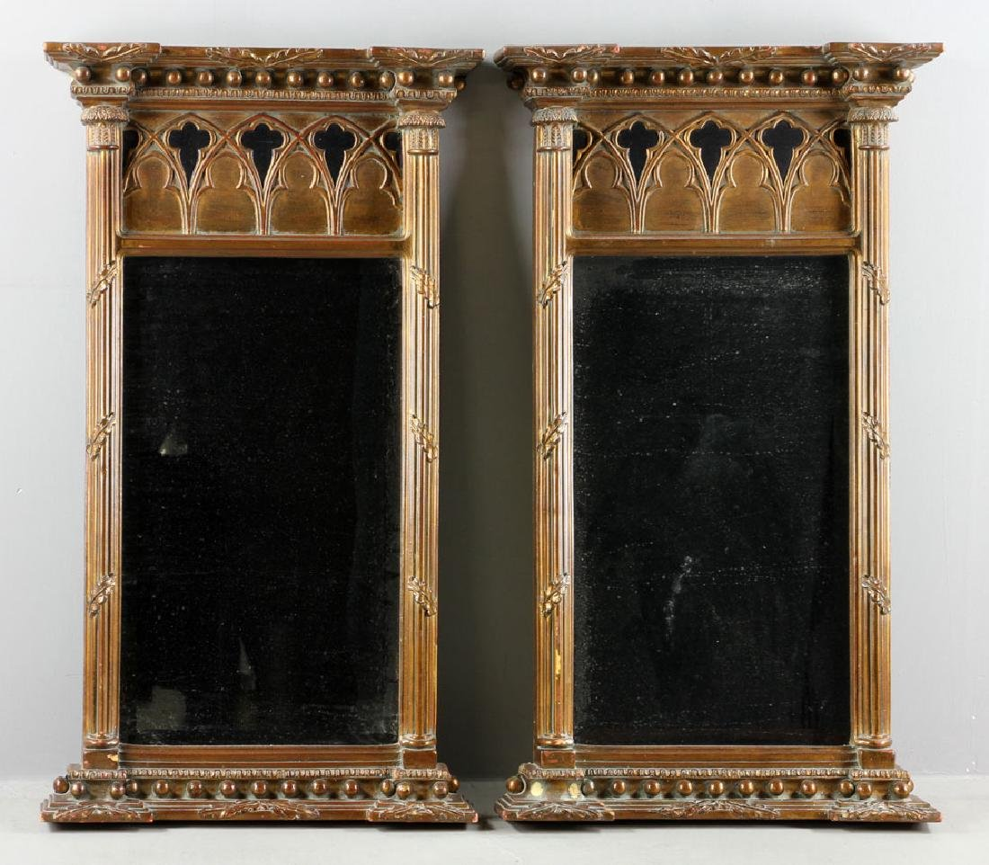 Pr. Gothic Style Mirrors