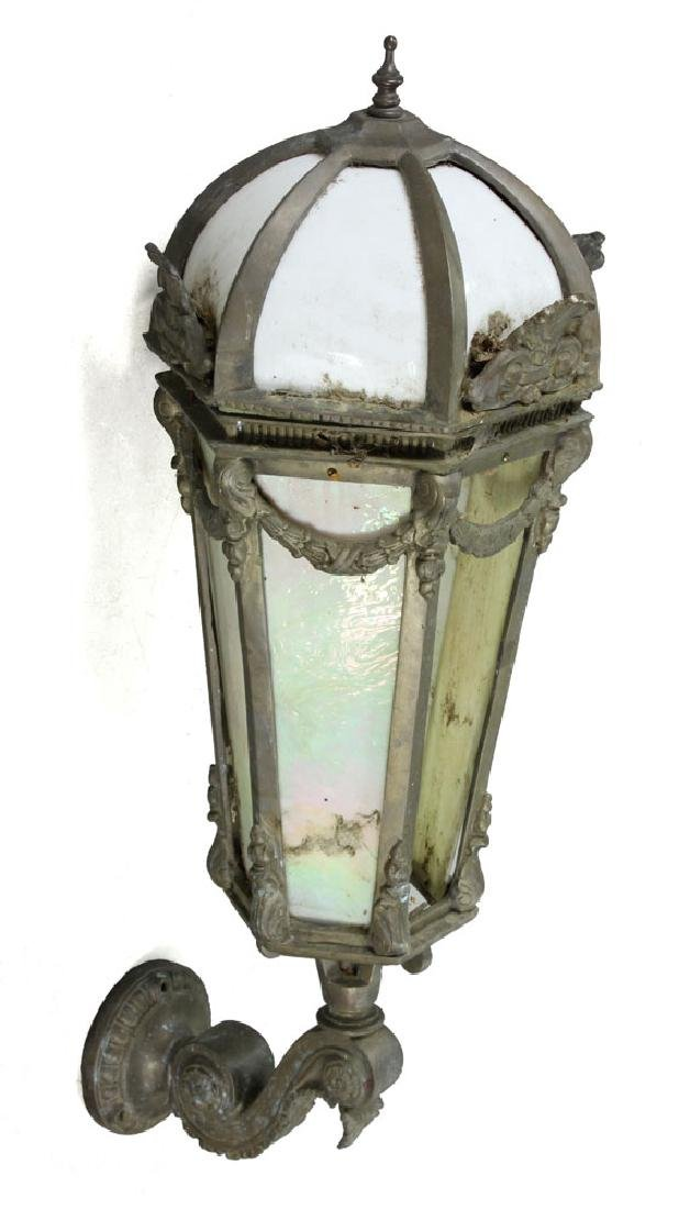 Classical Bronze Bank Sconce