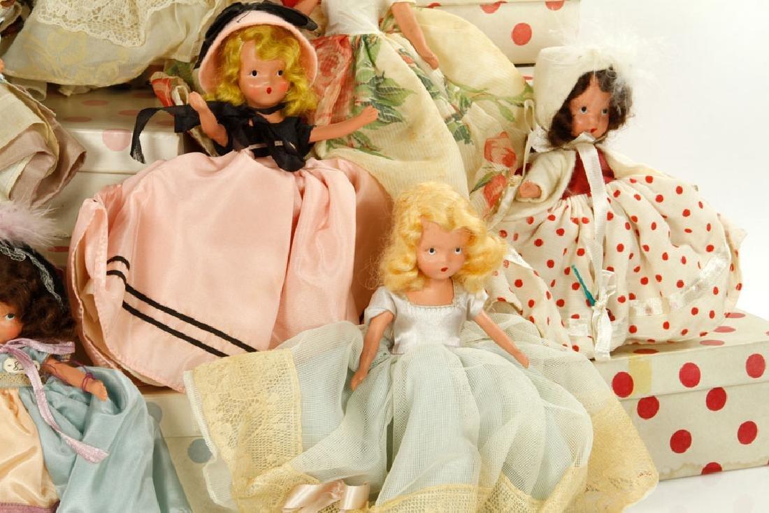 Lot of 12 Nancy Ann Dolls - 2