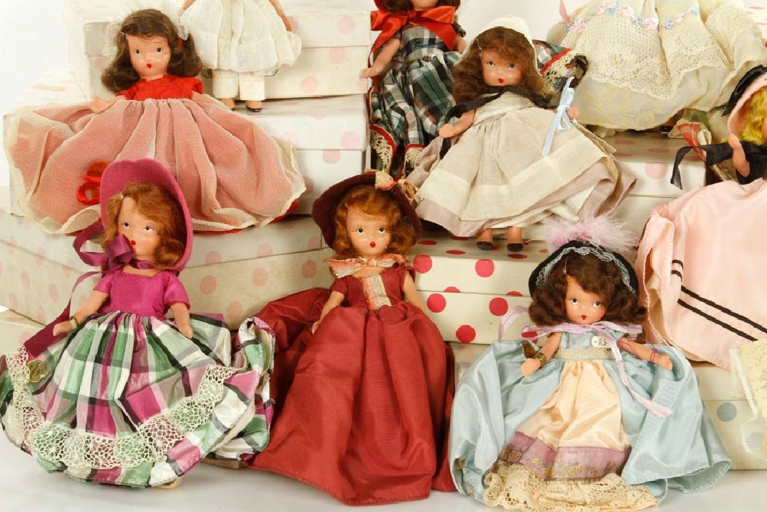 Lot of 12 Nancy Ann Dolls - 3