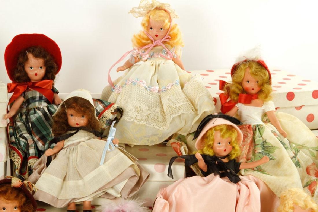 Lot of 12 Nancy Ann Dolls - 4