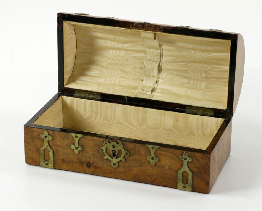 Antique Whist Game Box - 6