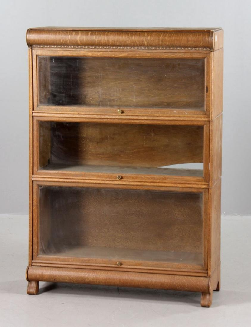Oak Barrister Bookcase - 2