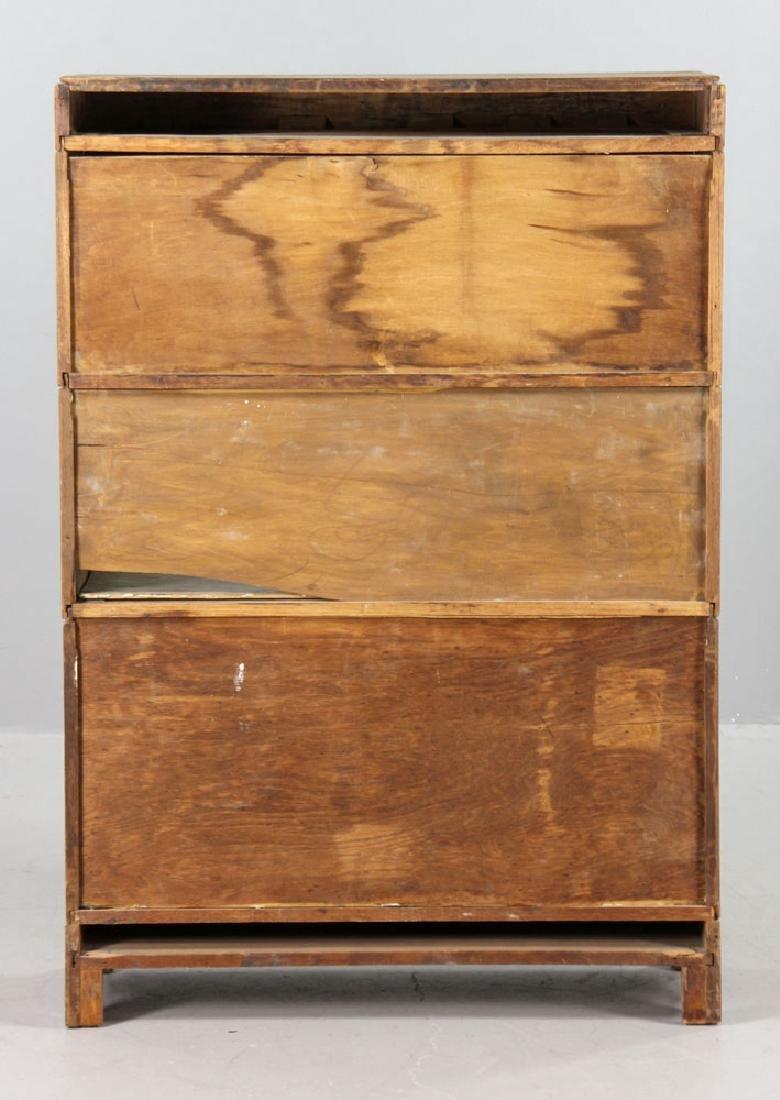 Oak Barrister Bookcase - 4