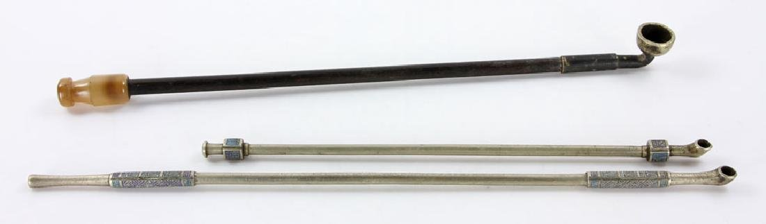 Three Chinese Pipes - 2
