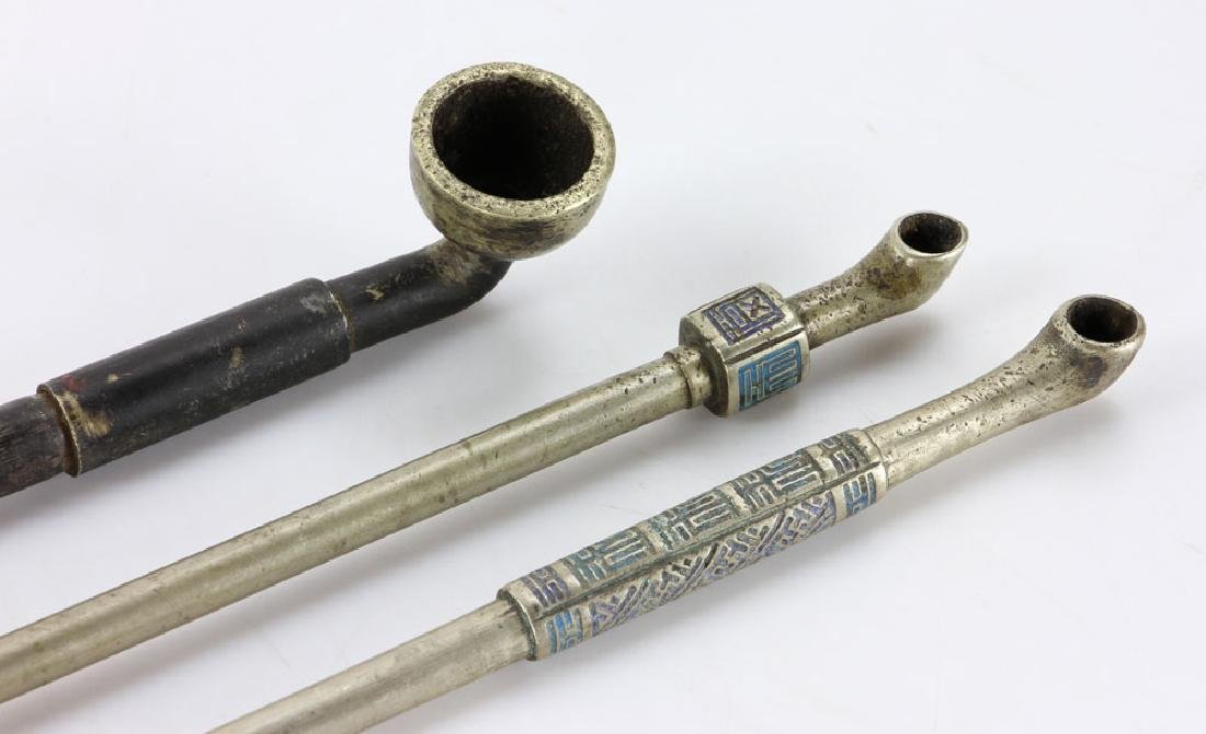 Three Chinese Pipes - 3