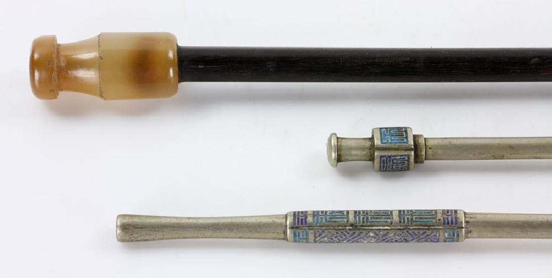 Three Chinese Pipes - 4