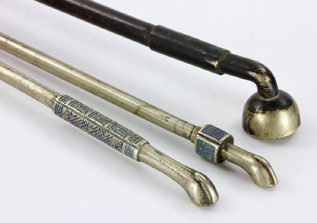 Three Chinese Pipes - 5