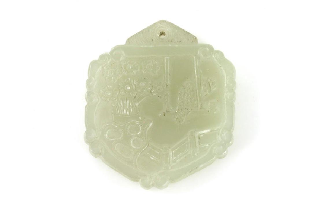 Five Chinese Jade Pendants - 6