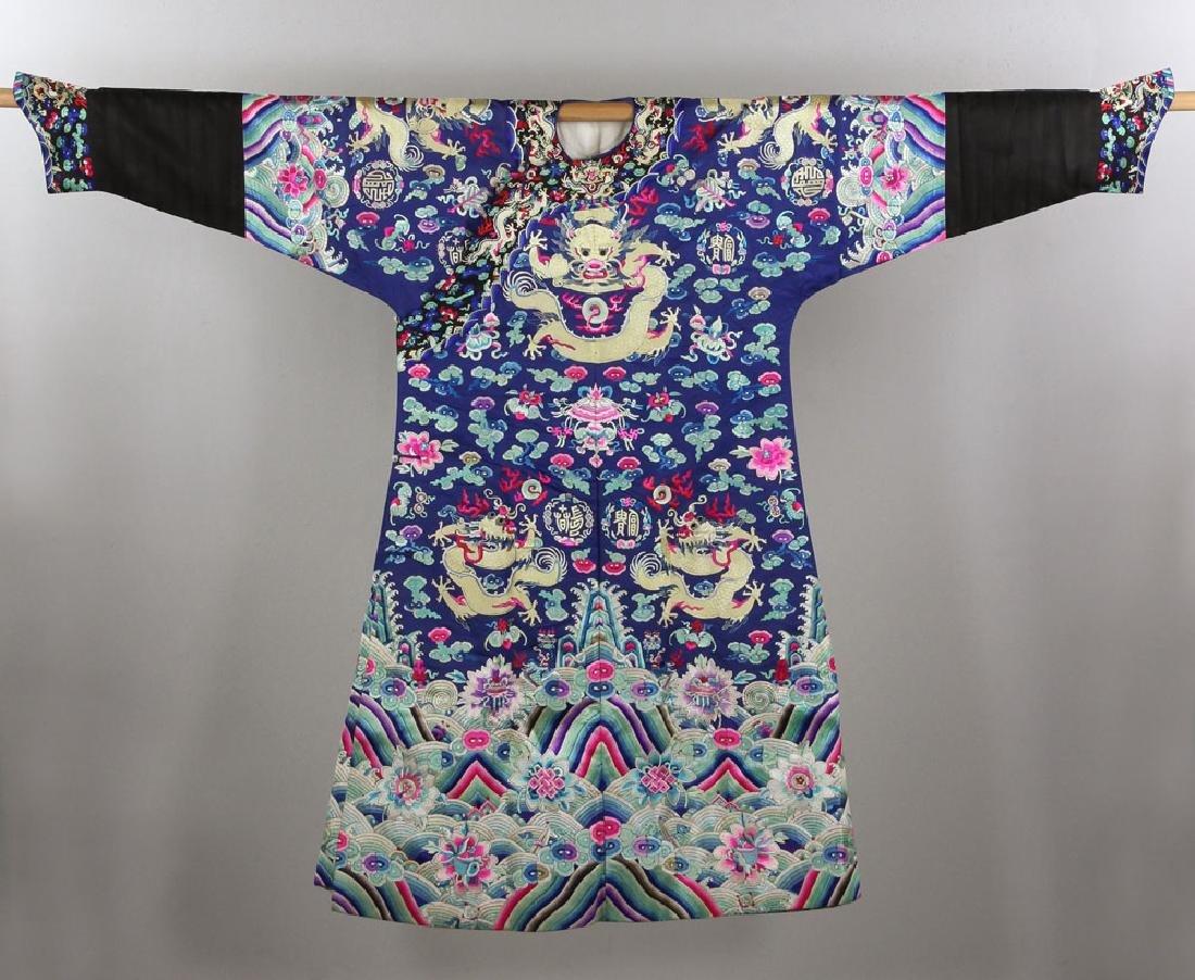 18th/19th C. Chinese Opera Dragon Robe