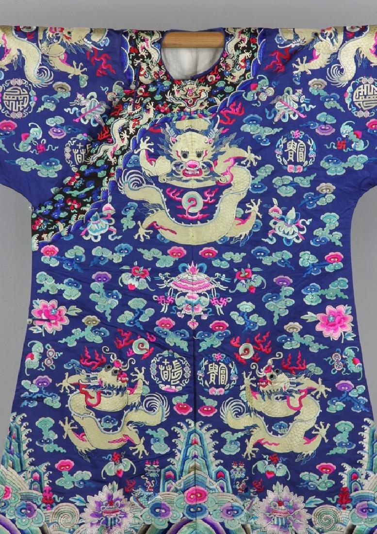 18th/19th C. Chinese Opera Dragon Robe - 2