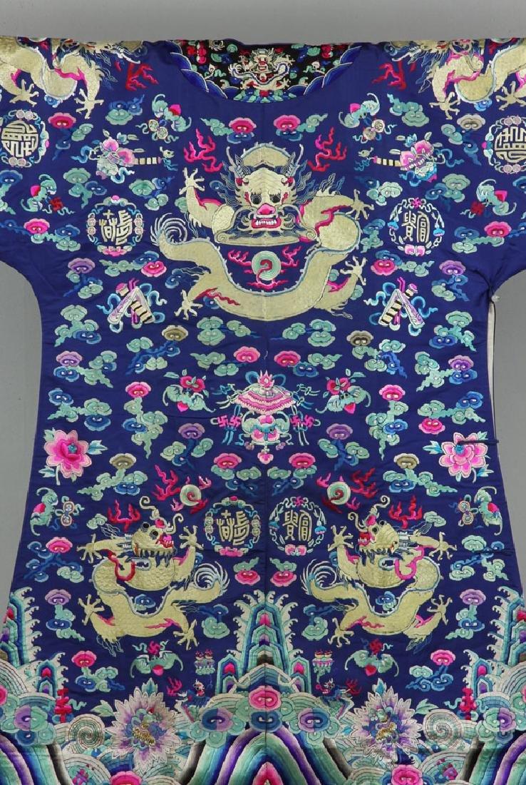 18th/19th C. Chinese Opera Dragon Robe - 4