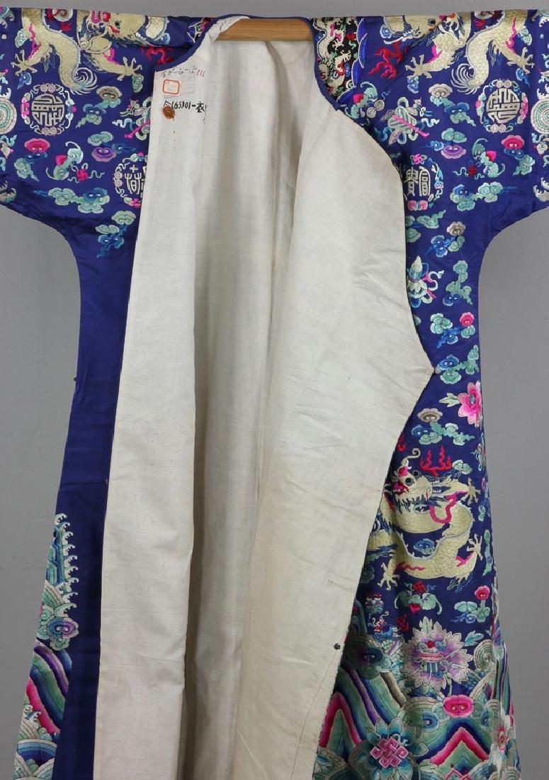 18th/19th C. Chinese Opera Dragon Robe - 7