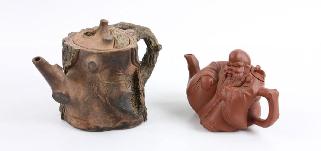 Eight Chinese Teapots - 2