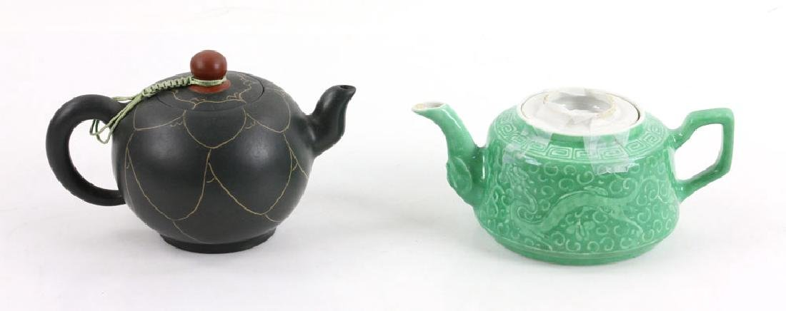 Eight Chinese Teapots - 4
