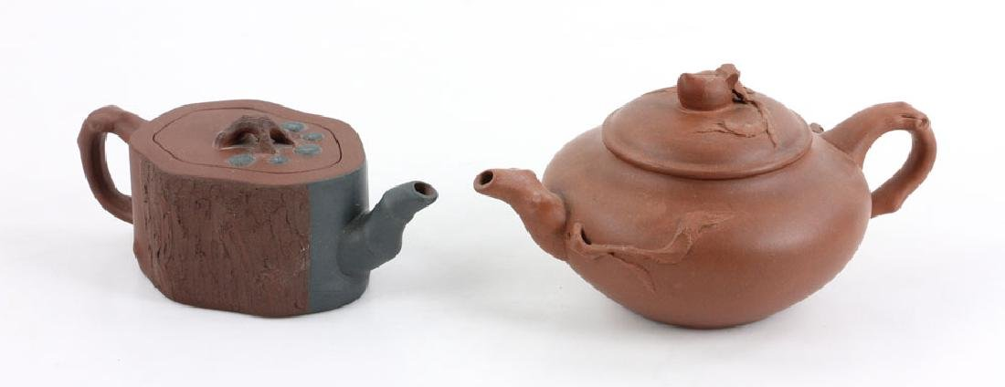 Eight Chinese Teapots - 6