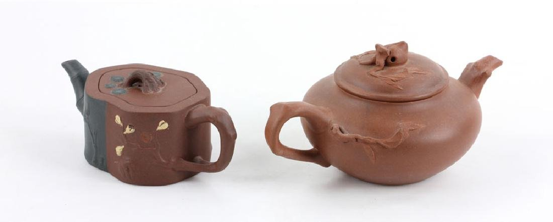 Eight Chinese Teapots - 7