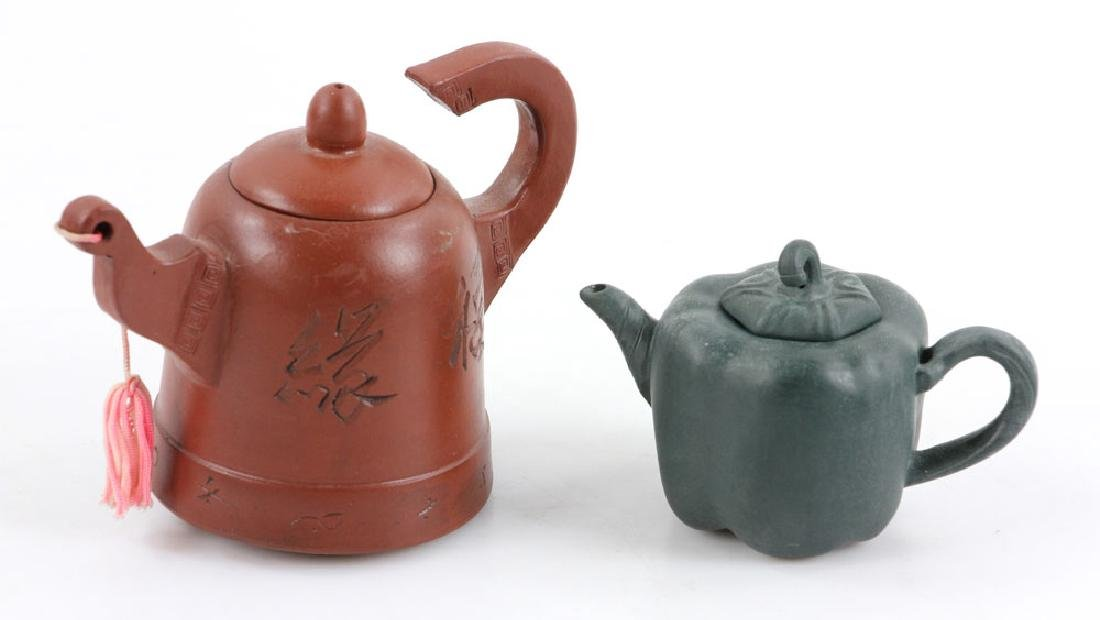 Eight Chinese Teapots - 8