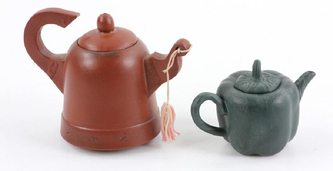 Eight Chinese Teapots - 9
