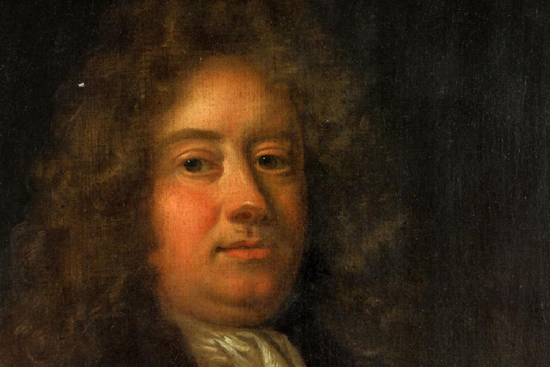 17th/18th C. English Portrait of Man, Oil - 5