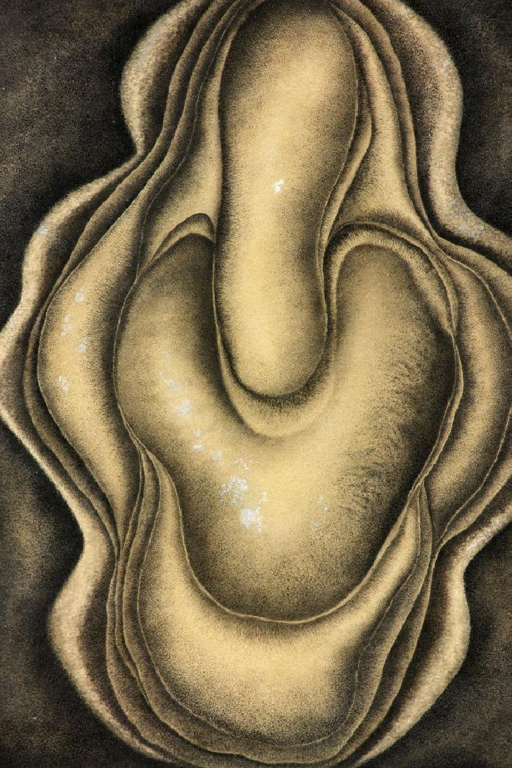 Der Hohannesian, Bulbous Forms, Watercolor - 2
