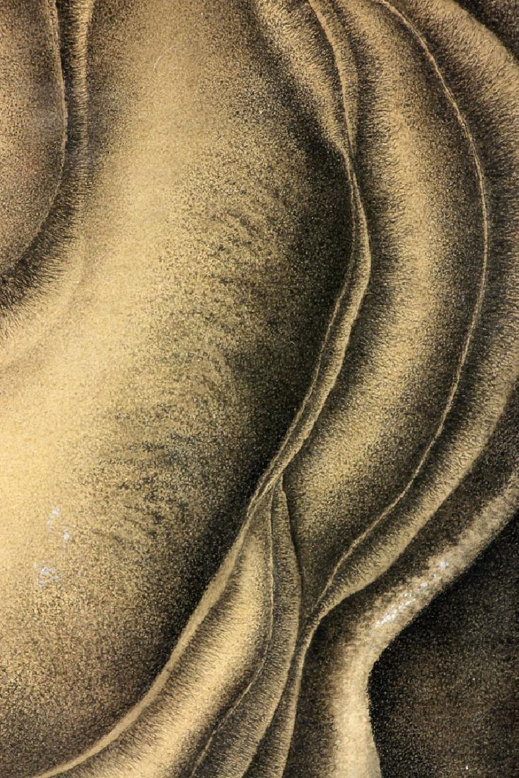 Der Hohannesian, Bulbous Forms, Watercolor - 3