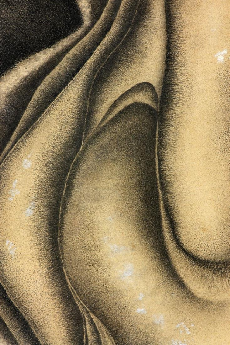 Der Hohannesian, Bulbous Forms, Watercolor - 4