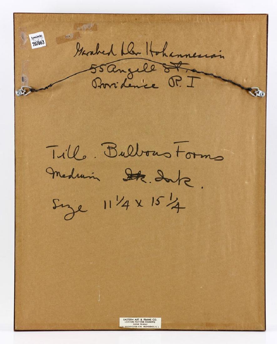 Der Hohannesian, Bulbous Forms, Watercolor - 5