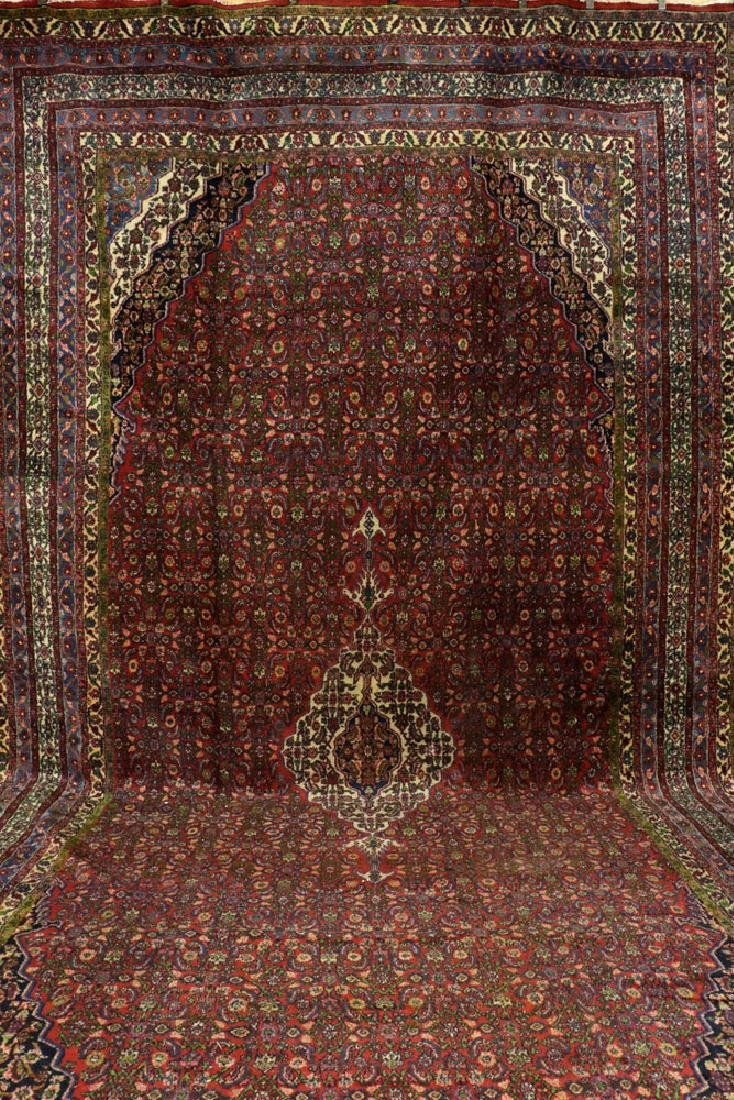 Antique Persian Seraband Hamadan Carpet - 2
