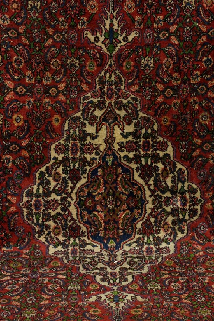 Antique Persian Seraband Hamadan Carpet - 3