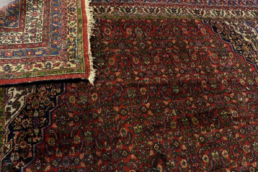 Antique Persian Seraband Hamadan Carpet - 5