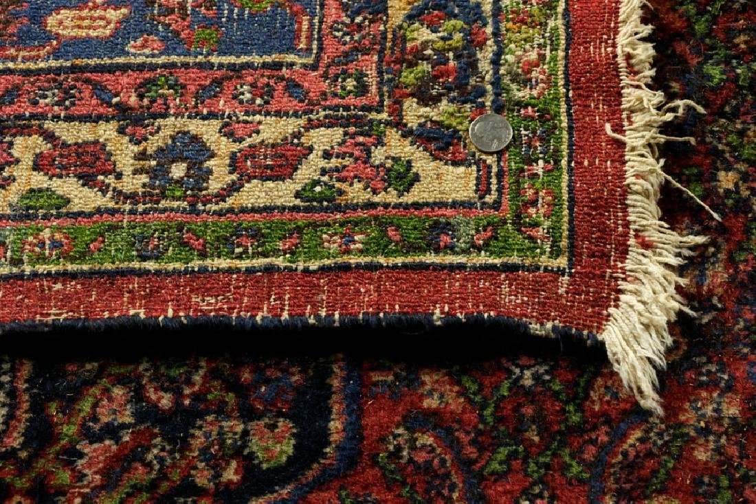 Antique Persian Seraband Hamadan Carpet - 6
