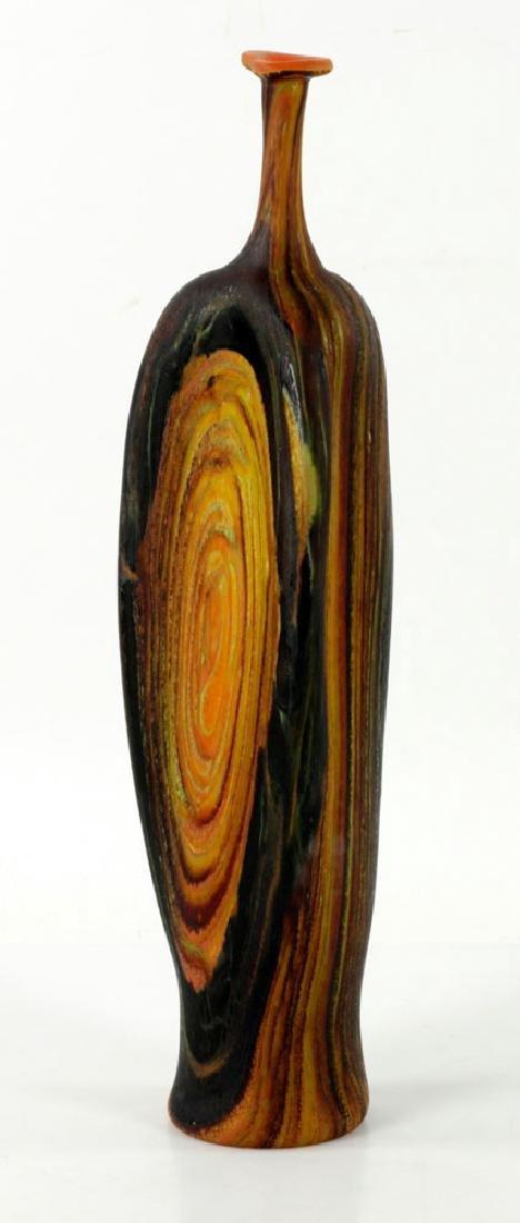 Randy Walker Art Glass Vase