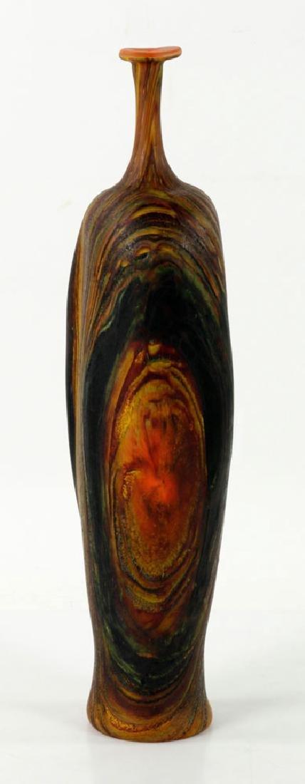 Randy Walker Art Glass Vase - 2