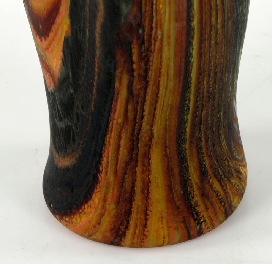 Randy Walker Art Glass Vase - 6