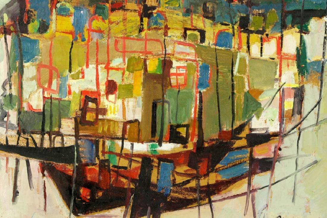 Mairovich, Sailboat, Oil on Canvas - 3