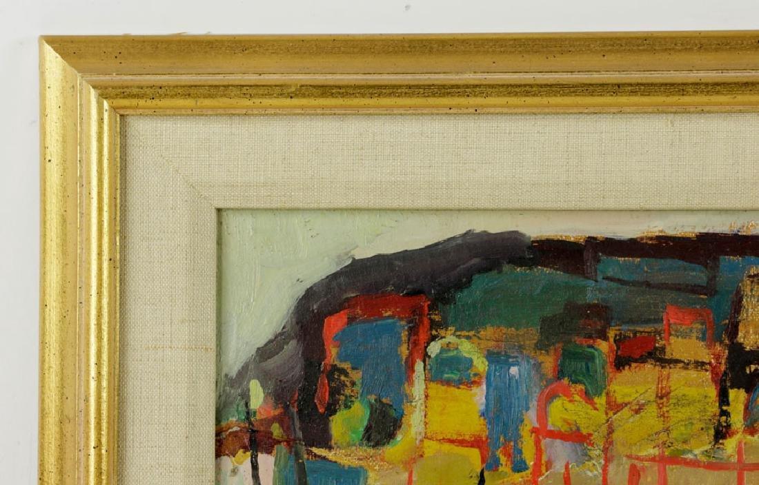 Mairovich, Sailboat, Oil on Canvas - 4
