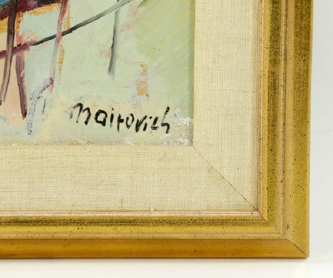 Mairovich, Sailboat, Oil on Canvas - 5