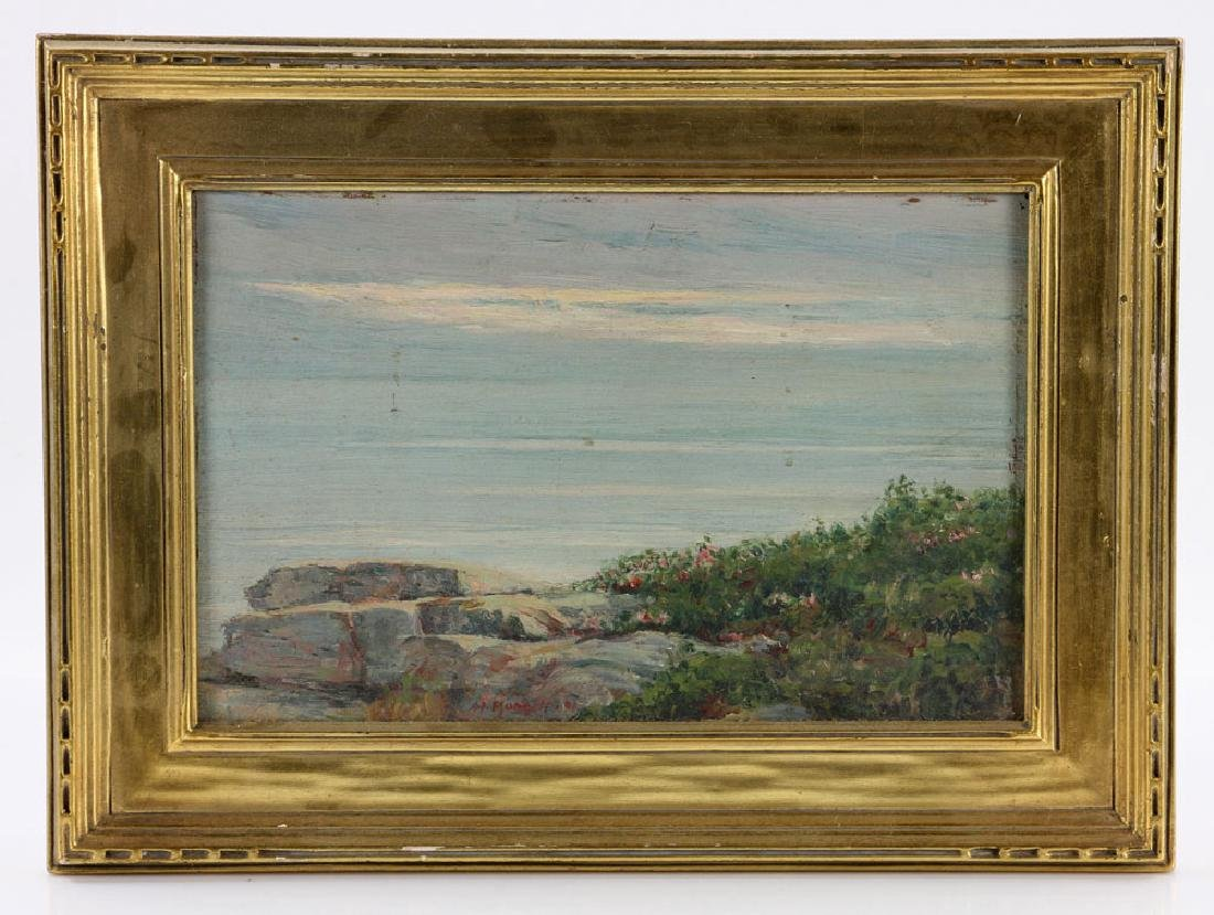 Munsell, Two Seascapes, Oil on Canvas - 2