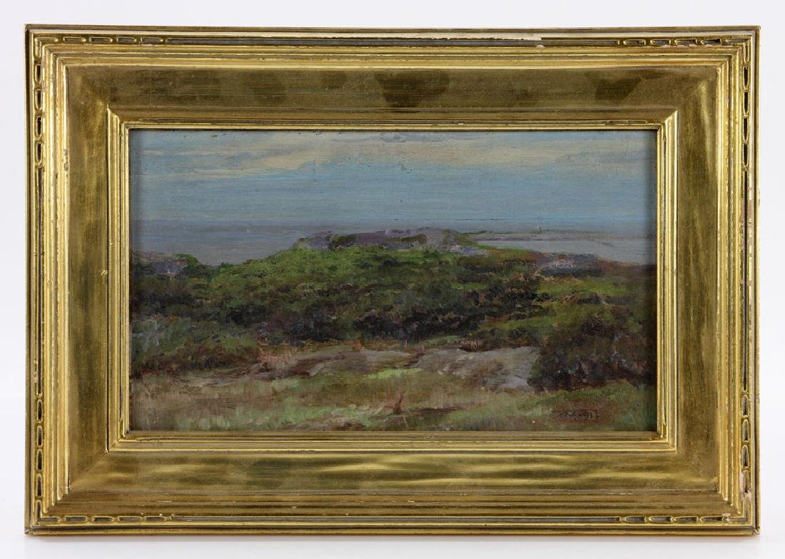 Munsell, Two Seascapes, Oil on Canvas - 3