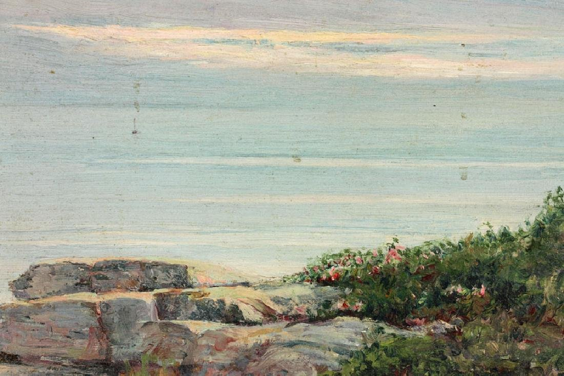 Munsell, Two Seascapes, Oil on Canvas - 5