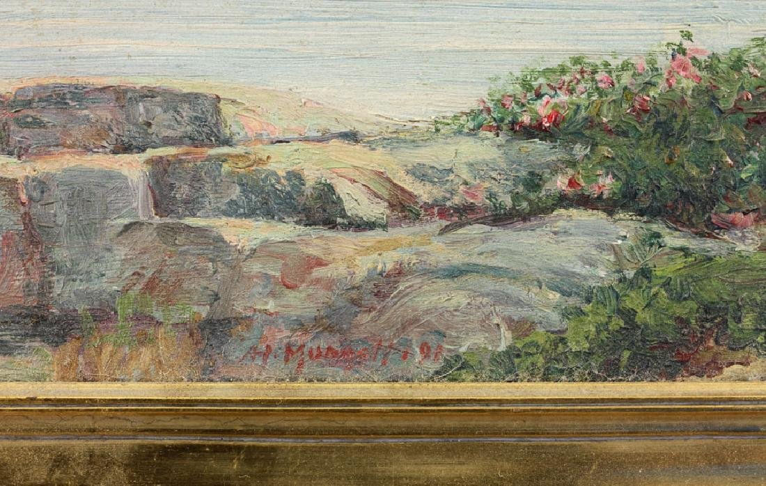 Munsell, Two Seascapes, Oil on Canvas - 8