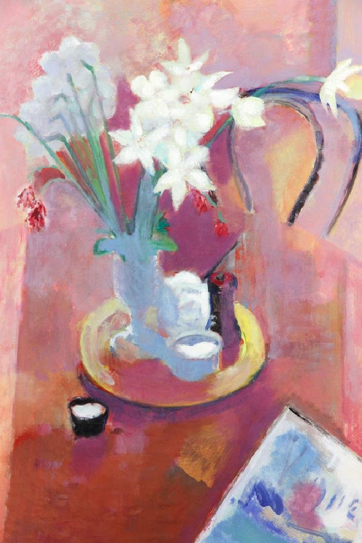 Brandt, Still Life of Daffodils, Oil on Canvas - 2