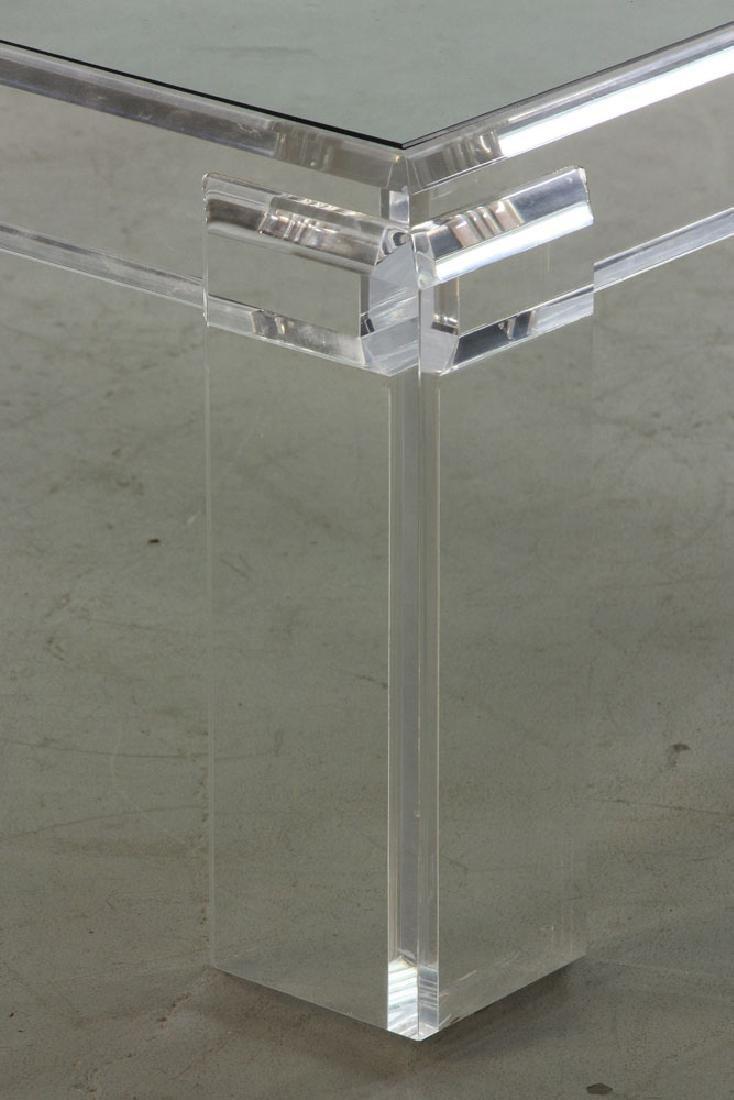 Les Prismatiques Lucite Table - 3