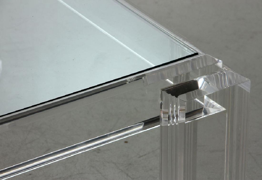 Les Prismatiques Lucite Table - 5
